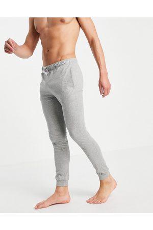 ASOS Lounge pyjama joggers in grey marl