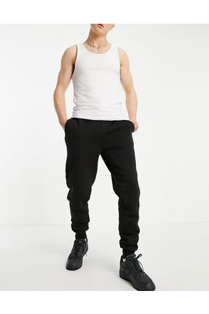Le Breve Co-ord slim fit joggers in black