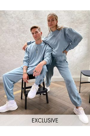 PUMA Oversized joggers in washed blue - exclusive to ASOS