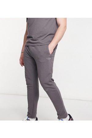 Il Sarto Plus logo joggers-Grey