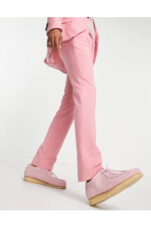 Twisted Tailor Skinny fit suit trousers in rose pink