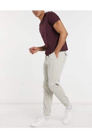 New Look Utility cord jogger in stone-Neutral