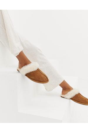 UGG Scuffette II Chestnut Slippers-Brown