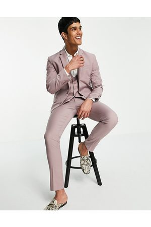 New Look Skinny suit trouser in pale pink