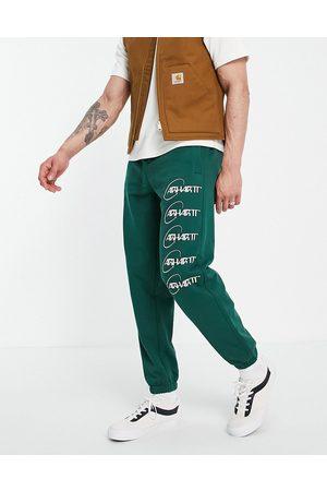 Carhartt Orbit sweat pants in green