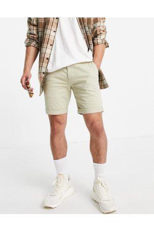Topman Chino skinny short in stone-Neutral