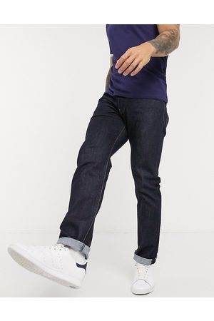 Levi's Levi's 502 tapered fit jeans in rock cod dark wash-Blue