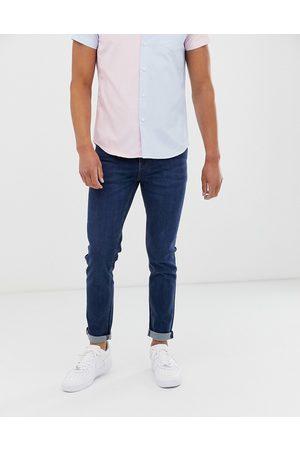 ASOS Skinny jeans in flat dark blue