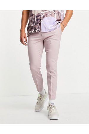 Topman Smart skinny jogger trousers in lilac-Purple