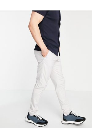 ASOS Skinny smart trousers in ice grey