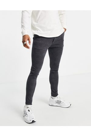 ASOS Extreme super skinny smart jogger in blue check