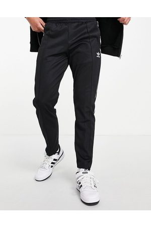 adidas Beckenbauer track joggers in black