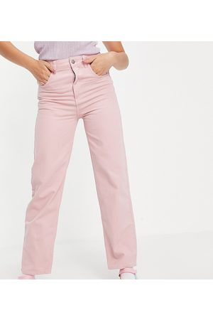 Reclaimed Inspired 90's dad jean in pink wash
