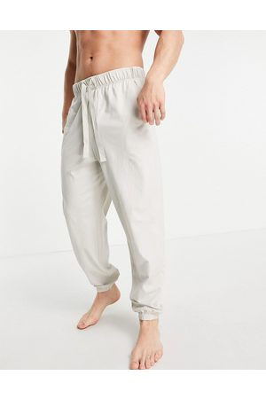 ASOS Oversized lounge joggers in light grey