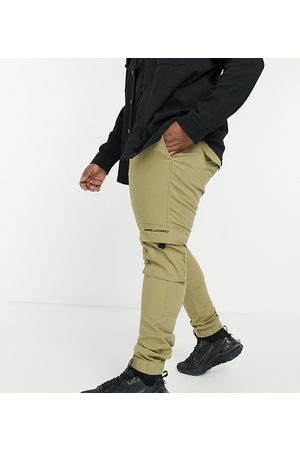 ASOS ASOS Unrvlld Spply Plus tapered cargo trousers in stone-Neutral