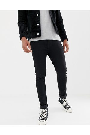 Levi's Levi's 510 skinny fit standard rise jeans in stylo black wash