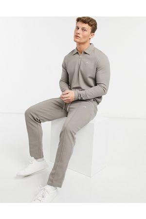 JACK & JONES Premium co-ord textured jogger in -Neutral