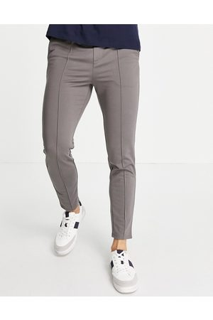 Only & Sons Trousers with elasticated waist in grey