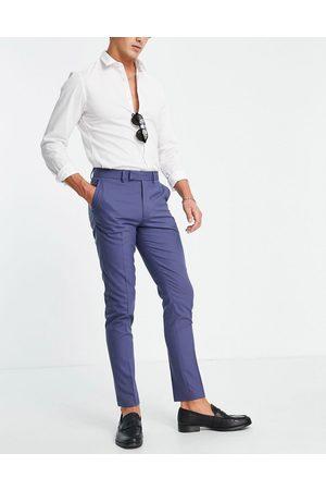 ASOS Skinny navy suit trousers