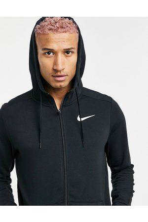 Nike Dri-FIT fleece hoodie in black