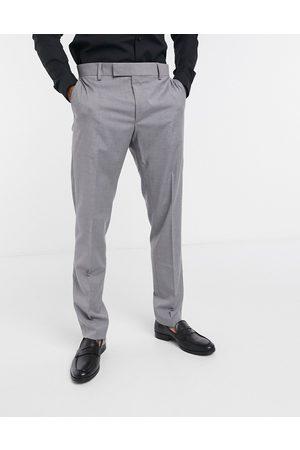 ASOS Slim smart trousers in grey