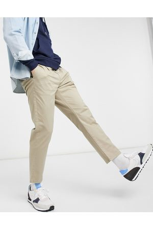 Only & Sons Chino in slim fit cropped stone-Neutral
