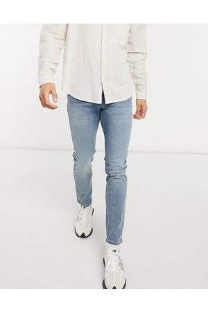 ASOS Skinny jeans in mid wash-Blue