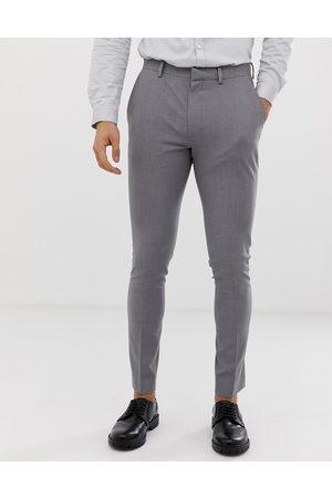 ASOS Super skinny smart trousers in grey