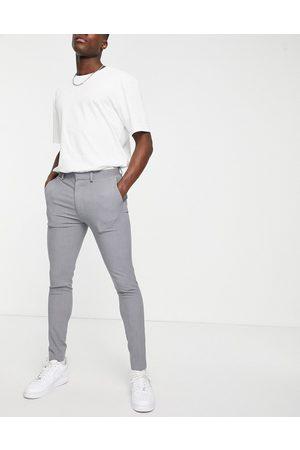 ASOS Super skinny smart trouser in grey