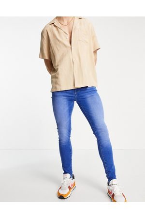 New Look Super skinny jeans in bright blue wash