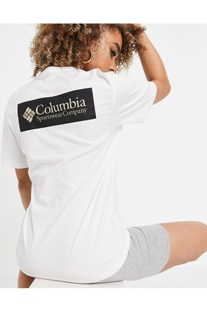 Columbia North Cascades back print t-shirt in white