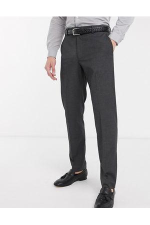 ASOS Slim smart trousers in charcoal-Grey