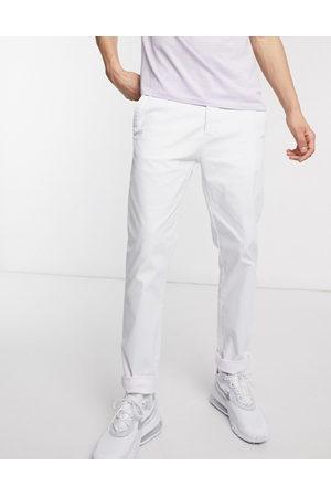 ASOS Slim chinos in white