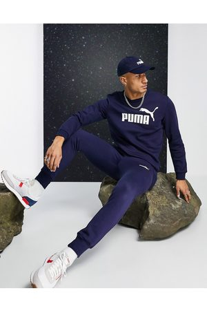 PUMA Essential Joggers In Navy 85175306