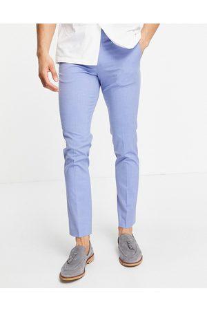 JACK & JONES Premium slim fit suit trousers in blue