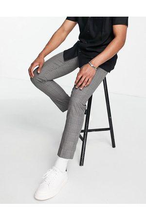 Burton Burton skinny fit trousers in dark grey