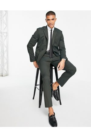 SELECTED Suit trouser in green