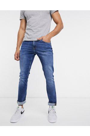 Calvin Klein Slim fit jeans in mid wash-Blue