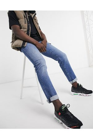 HUGO BOSS Maine regular fit jeans in light blue