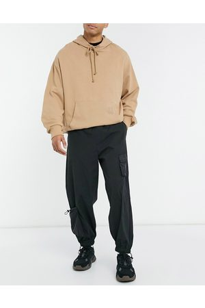 ASOS Herre Chinos - Joggers with 3D pockets in black