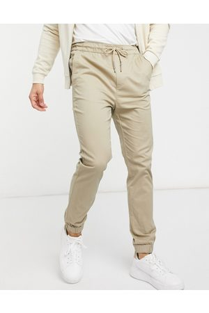 Only & Sons Cuffed trouser in -Neutral
