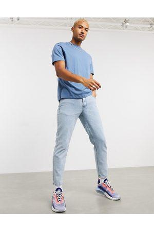 ASOS Classic rigid jeans in light wash-Blue