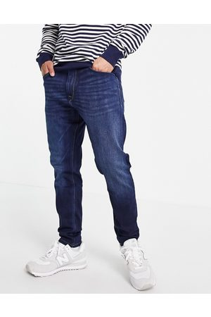 Pepe Jeans Johnson tapered fit jeans-Blue