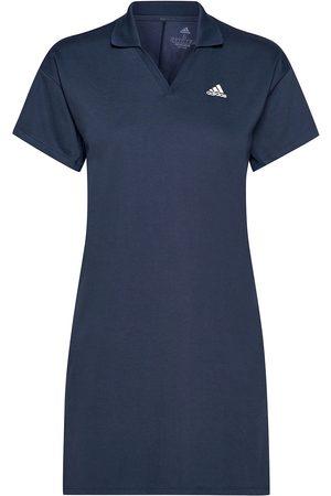 adidas Dame Kjoler - 3 Stp Ss Drs Dresses T-shirt Dresses Blå