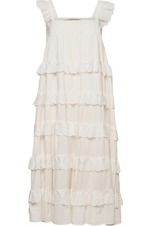 AllSaints Dame Midikjoler - Serina Long Dress Knelang Kjole