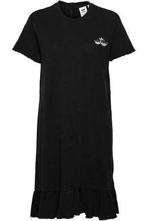 adidas Triple Trefoil Ruffle Dress W Dresses T-shirt Dresses