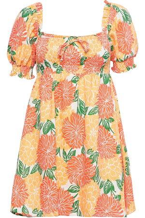 FAITHFULL THE BRAND Miguelina Mini Dress Kort Kjole Multi/mønstret