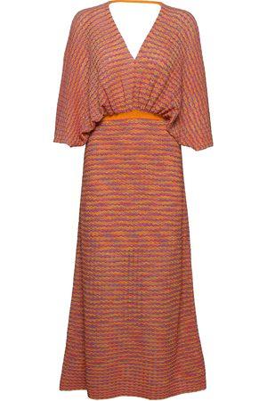 MANGO Dame Mønstrede kjoler - Fairy Knelang Kjole Multi/mønstret