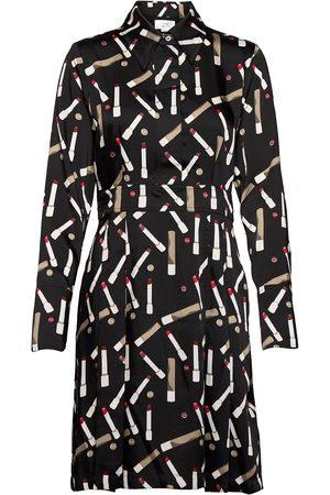 Victoria Victoria Beckham Dame Hverdagskjoler - Pleated Shirt Dress Knelang Kjole