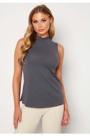 Happy Holly Ruby sleeveless tunic Dark grey melange 36/38